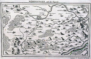 Antique-map-Nordlingen