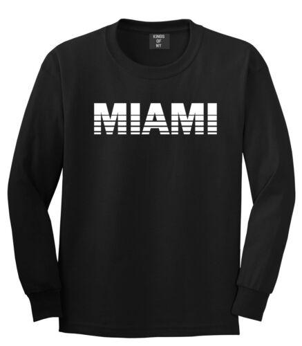 Miami Florida State City Long Sleeve T-Shirt