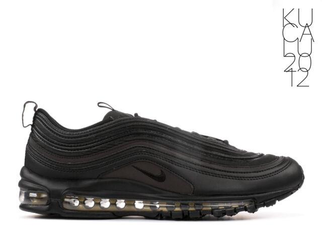 Nike Air Max 97 PRM SE Triple Black Reflective Gold AA3985 001 AUTHENTIC 7.5~13