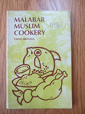 Vintage Cook Book MALABAR MUSLIM COOKERY Ummi Abdulla Kerala RECIPES Cooking