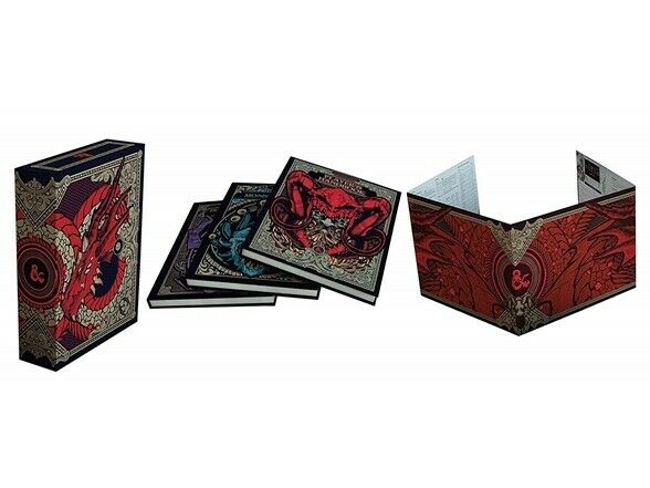 Core Rulebook Gift Set Limited Alternate Covers Hobby Dungeons and Dragons RPG