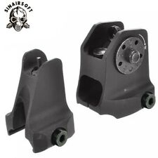 Tactical Rail Mount Fixed Front Iron Sight Weaver Picatinny Rail Sight Airsoft