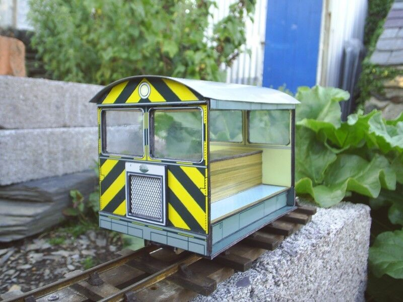 16mm SM32 or G gauge garden railway Locolines Wickham Tram COMPLETE KIT
