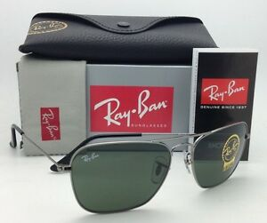 3ae7acbc32 New RAY-BAN Sunglasses CARAVAN RB 3136 004 55-15 Gunmetal with G-15 ...