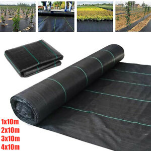 Heavy Duty Weed Control Fabric Membrane Garden Ground Cover Mat Landscape Sheet
