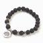 miniature 134 - Crystal Gemstone Bead Bracelet Chakra Natural Stone Reiki Healing Anxiety Stress
