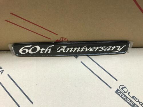 Toyota Land Cruiser 60th Anniversary Arrière Garde-Boue LOGO EMBLEM Quarter Panel