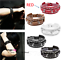 Punk-Leather-Bracelet-Rock-Stud-Chain-Cuff-Bangle-Adjustable-Wristband-Bracelet thumbnail 13