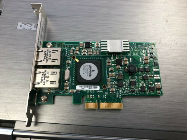 Dell F169G Broadcom 5709 Dual Port PCIe Network Interface Card G218C