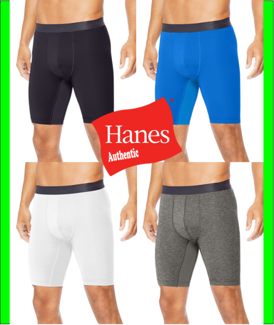 Hanes Sport Mens Performance Compression Shorts