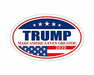 Oval-Car-Magnet-Trump-2020-Trump-Make-America-Even-Greater-TO446
