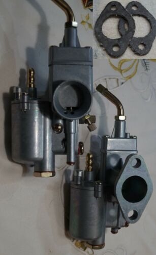 2xVergaser K-302 für K 750 Dnepr Ural inklusive 2 Dichtungen NEU
