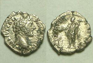 Genuine-Ancient-Roman-silver-coin-Marcus-Aurelius-denarius-Genius-Eagle-Altar