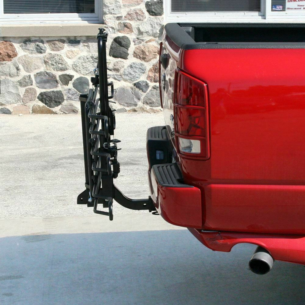 3-Bike Wheel Cradle Hitch Mounted Mounted Mounted Bike Rack Tilt Option 2  Receiver 611b5b