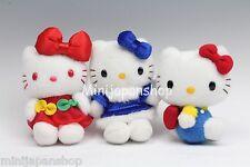 Hello Kitty set of 3 mini plush Original Sanrio NTT Japan