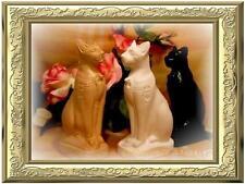 GIEßFORM ägypt. Katze Skulptur Gießformen latexform hobby