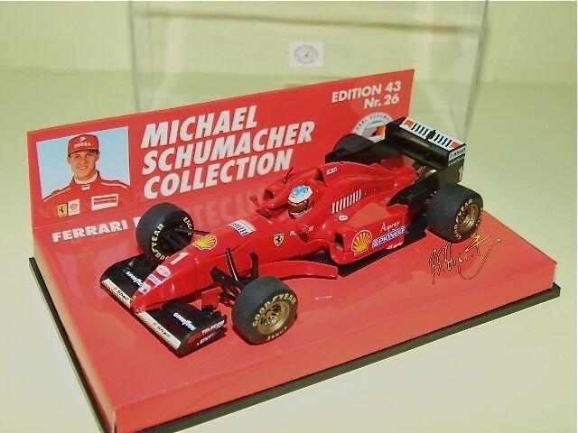 FERRARI F310 M. M. M. SCHUMACHER 1996 MINICHAMPS N°26 6d5261