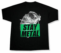 Miss May I sloth Stay Metal Black T-shirt Official Adult Band