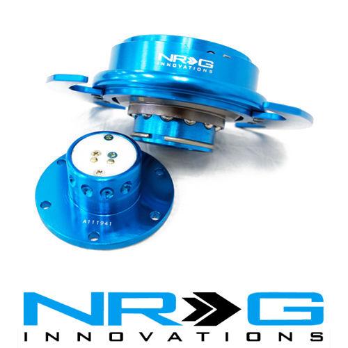 Blue RingSRK-650NB NRG 3.0 Gen Steering Wheel Quick Release Hub New Blue
