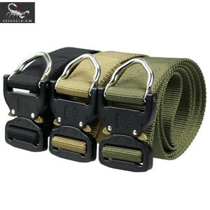 """IDOGEAR 1.5/"""" Quick Release Tactical Belt Riggers Airsoft Belt Paintball Military"""