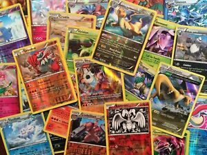 100-REAL-Pokemon-Cards-Lot-Near-Mint-w-8-HOLO-CARDS-NO-ENERGY-CARDS