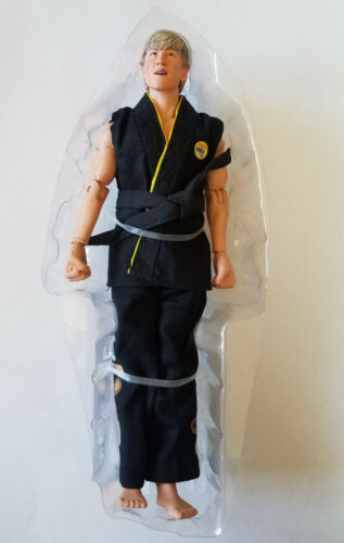 "LOOSE NECA Karaté Kid tournoi Johnny Lawrence 8/"" Scale Retro Cloth figure"