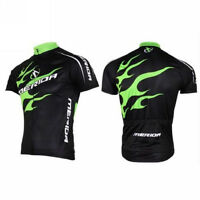 MERIDA Cycling Bike Team Outdoor Short Sleeve Jersey Quick Dry Clothing S-4XL