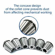 6pcs Cnc Er 32 Precision Chuck Collets Spindle Collet Set Milling Lathe Tool