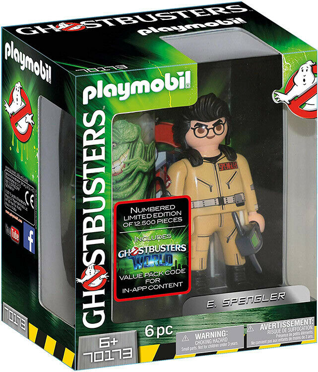 Playmobil Ghostautobusters  Collection cifra 15cm E. Spengler 70173 (bambini 6 & up)  rivenditori online