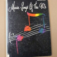songbook MOVIE SONGS OF THE 90s