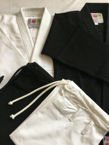 BJJ Gi WHITE Premium Quality Matching Stitch Brazilian Jiu Jitsu Pearl Weave