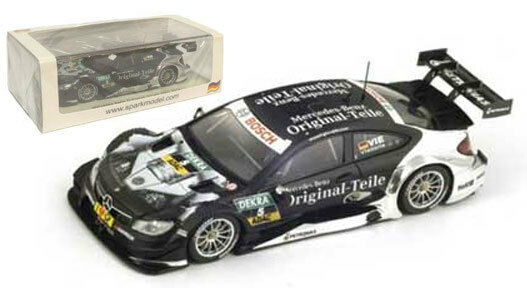 Spark sg176 Mercedes Benz C-klasse Coupe Dtm 2014-C Vietoris 1 43 Escala