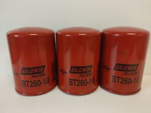 LOT OF (3) NEW OLD STOCK! BALDWIN HYDRAULIC FILTERS BT260-10 ...