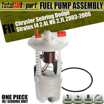 Fuel Pump Module Assembly for Chrysler Sebring Dodge Stratus 2003-2006 5093455AC