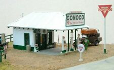 JL Innovative 651 HO George Helm Conoco Gas Station Wooden Kit