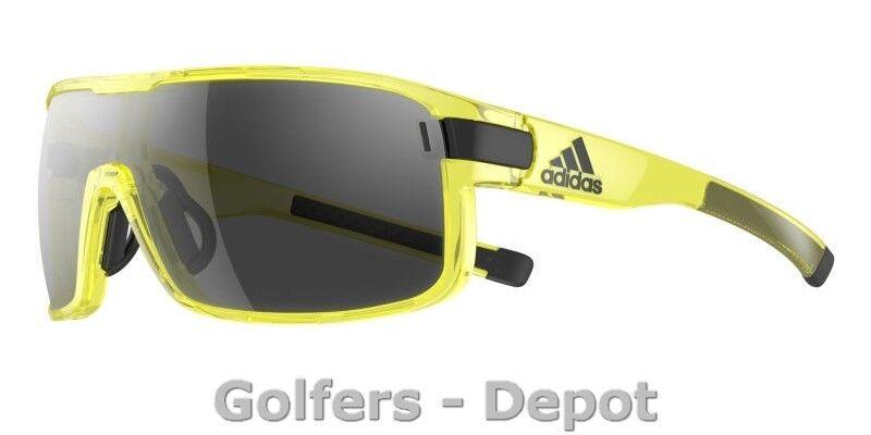 Adidas Brille ad03 ZONYK L L L Gelb transparent shiny 6054  | Qualität Produkte  94a837
