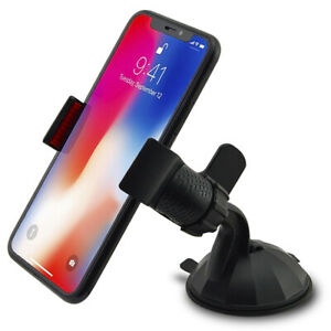 Car-Mount-Holder-Cradle-for-iPhone-6s-7-8-X-XR-XS-Samsung-S7-S8-S9-PLUS