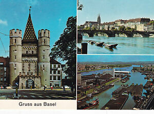 Basel Various Views Switzerland Postcard Unused VGC - Rochester, United Kingdom - Basel Various Views Switzerland Postcard Unused VGC - Rochester, United Kingdom