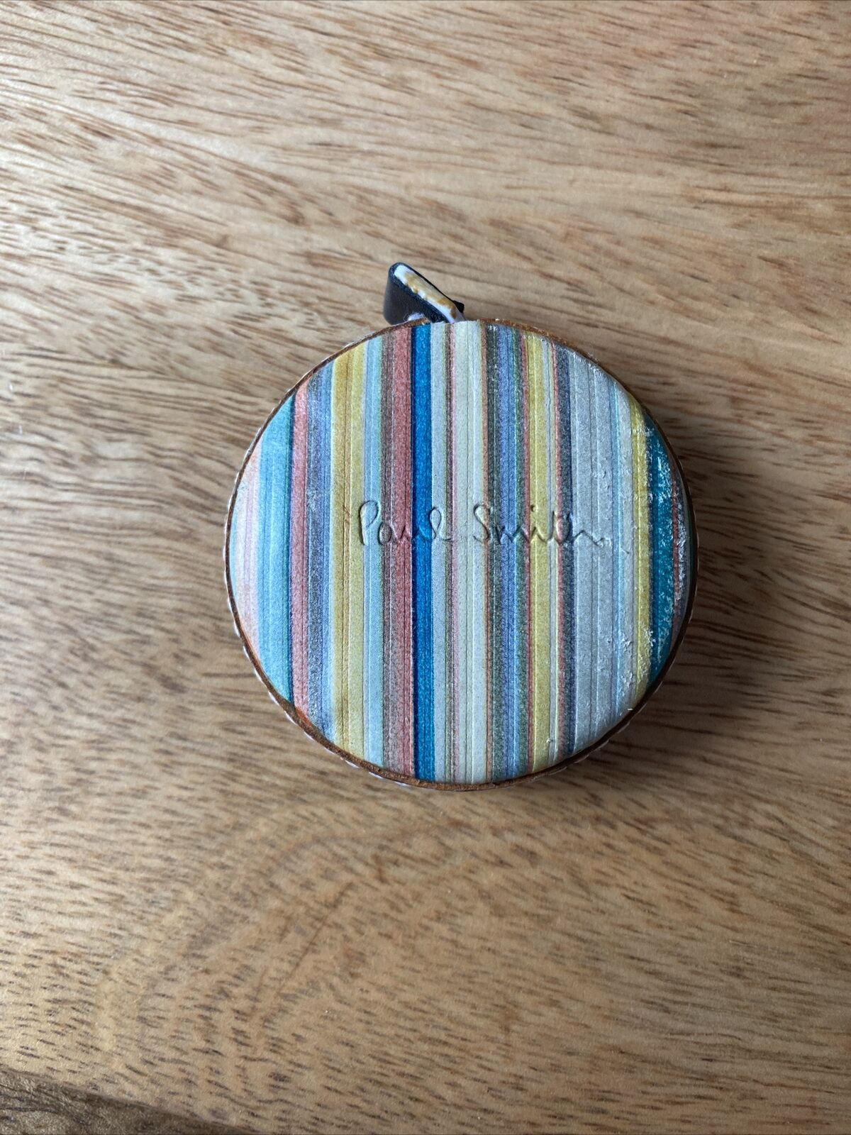 Paul Smith Rolling Tape Measure Leather Stripes Limited Edition 1m Rpp