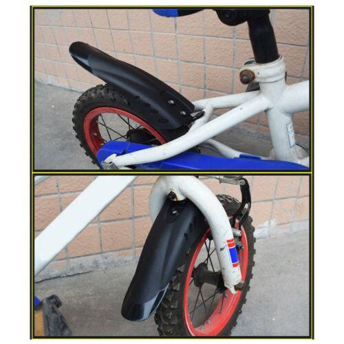 12-20 Zoll Kinder Fahrrad Kotflügel Set Vorne Und Hinten Kunststoff Kotflügel