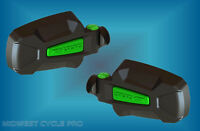 Seizmik Green Pursuit Elite Side View Mirrors (2) For 1.75 Roll Cage (18071_g)