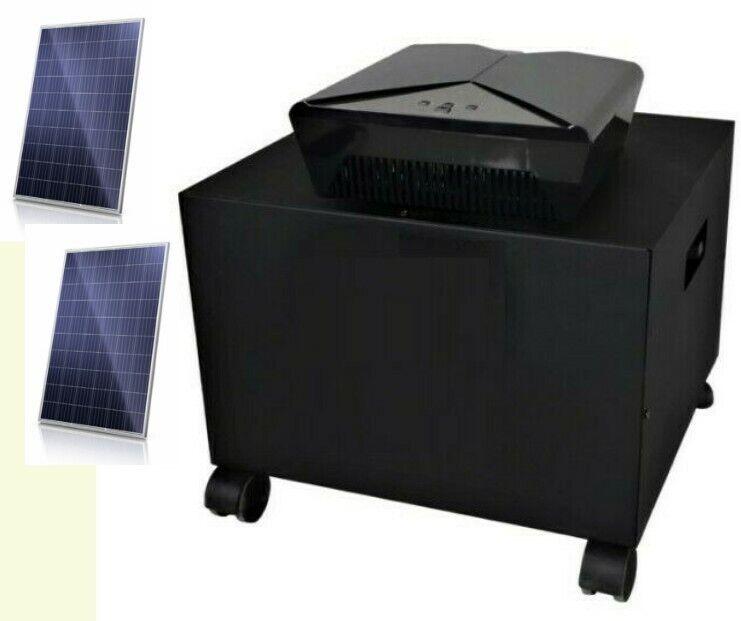 Inverter / Solar Ups 1600W / 24V  and 2 x 335 W Solar panels