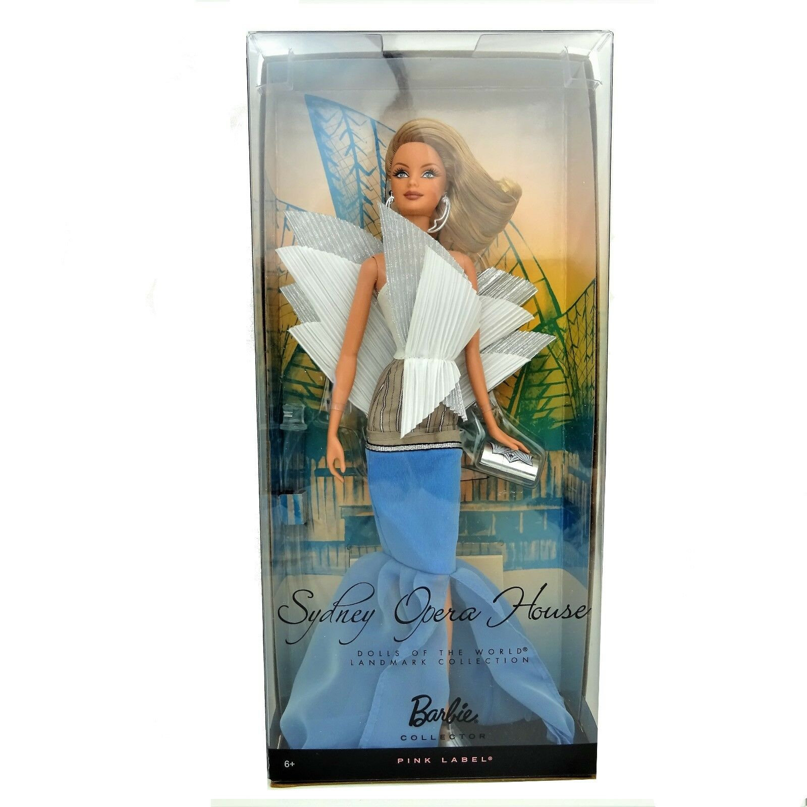 Barbie Dolls of the World Landmark Collection Sydney Opera House Doll WORN Box