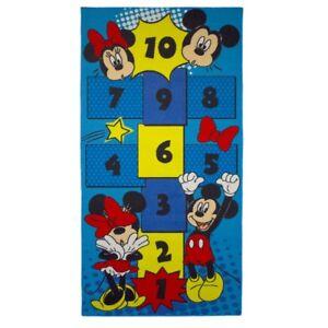 Details zu Teppich Kind Mickey und Minnie Maus 160 x 80 cm Disney Himmel  und Hölle