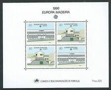 1990 EUROPA MADERA FOGLIETTO MNH ** - B