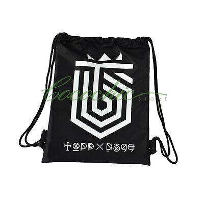 KPOP TOPP DOGG ToppDogg Drawstring Bag Backpack Bags Zipper Handmade New 01