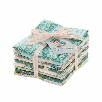 Tilda Spring Lake Fat Quarter Bundle x 9  100% quilting/patchwork cotton pieces