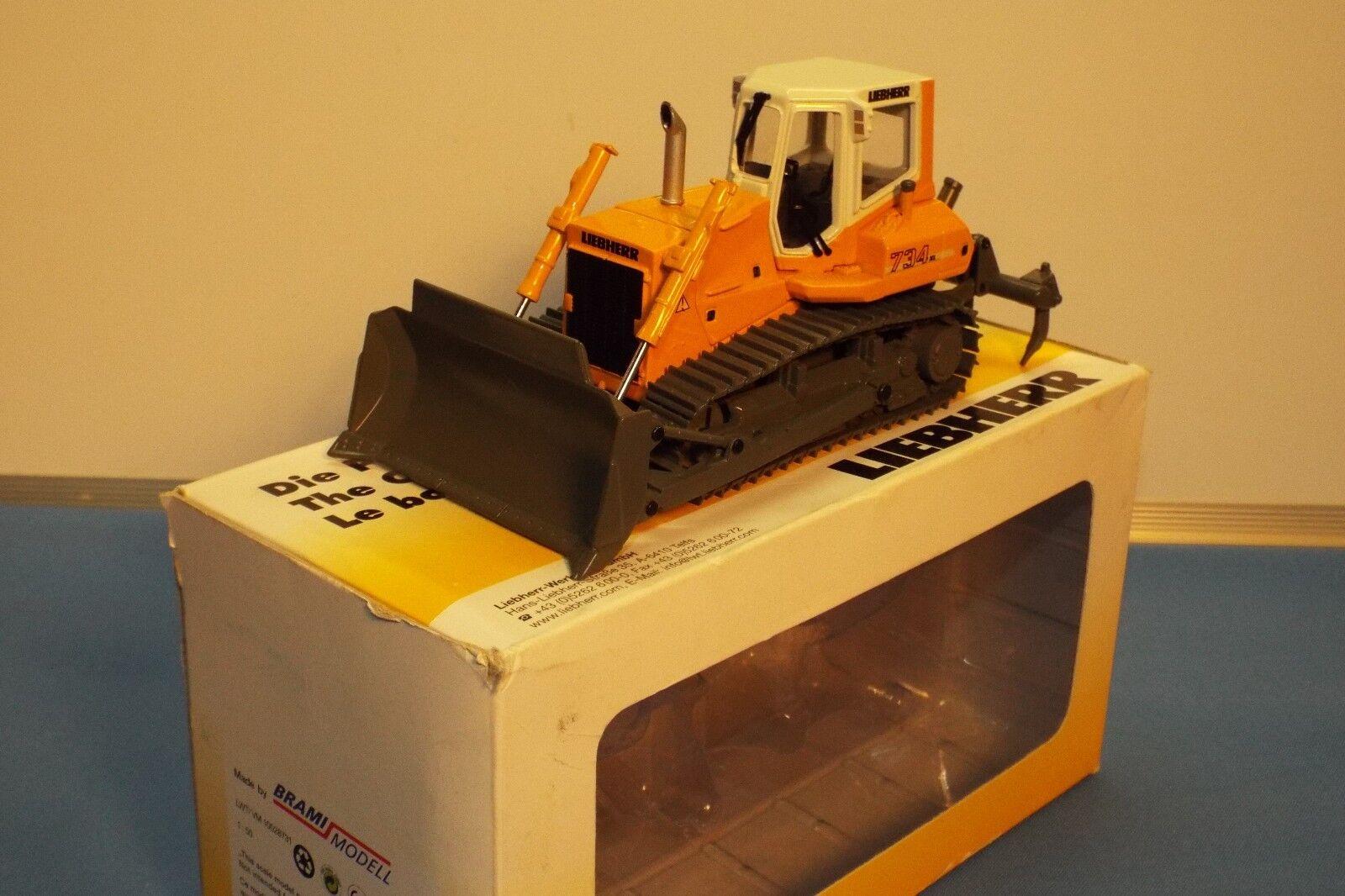 Brami no 1008731 LIEBHERR PR 734 XL Acier chenilles Bulldozer VNMB