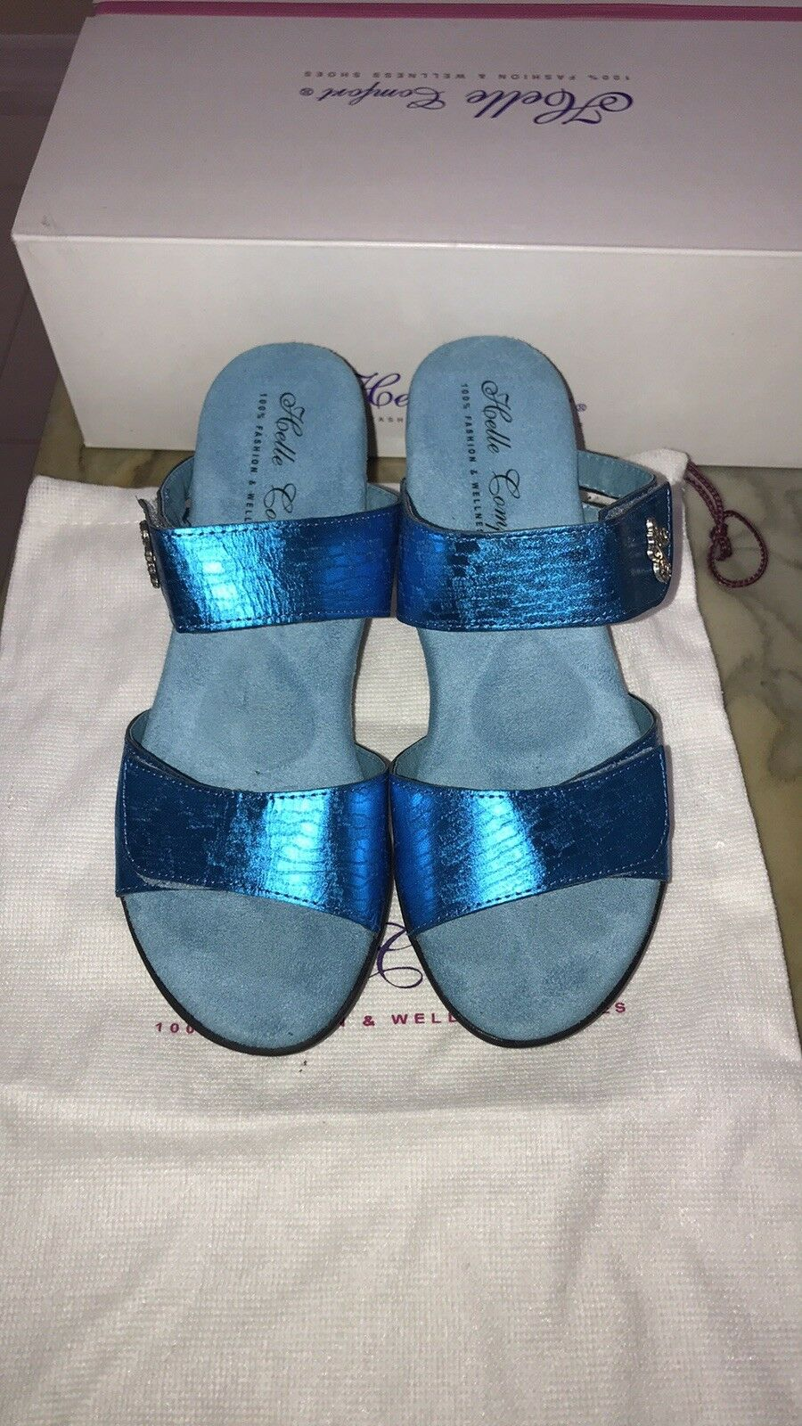 New With Box Helle Comfort Ferrol bluee Fun Size Size Size 38 8a6aee