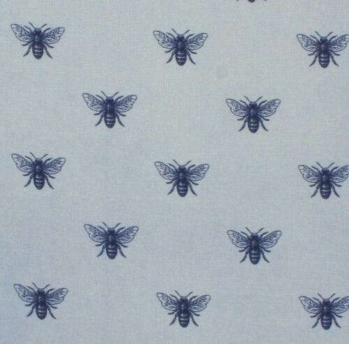 Blue Bee Silk /& Cotton Pocket Square